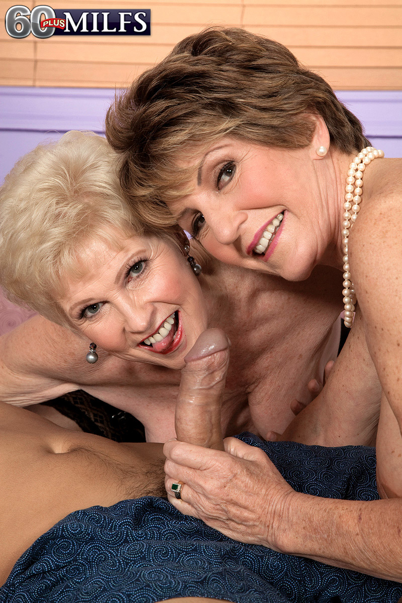 Bea Cummins And Jewel Ideal two hot matures bea cummins and jewel servicing one cock